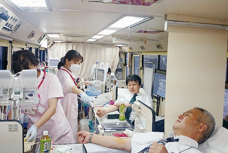 献血活動参加
