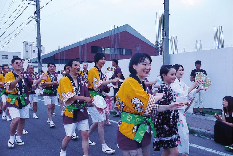 江の川祭り参加