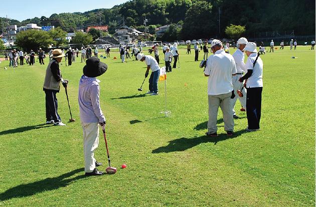 グラウンドゴルフ大会(江津)